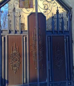 New Mett Кованые ворота