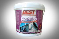 Краска силиконовая фасадная, эмульсия BIG BEST LUX