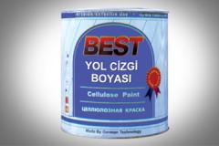 Paint for a road marking of BEST
