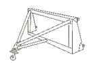Hook mounting DZ-133.18.00.000 for a loader