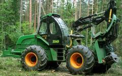 Tractor trelevochny AMKODOR 2243