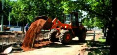 AMKODOR 332V loader for digging and transport