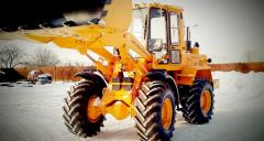 One-bucket front-end loaders Amkodor 333B