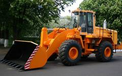 Front-end loader of AMKODOR of 371 productions