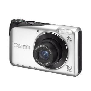 Цифровые фотоаппараты  Canon PowerShot A2200