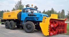 Snowplow shneko-rotor AMKODOR 9531-03 productions