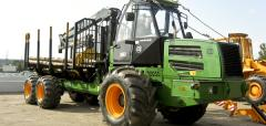 Forwarder of AMKODOR 2662 of the Belarusian