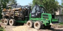 Forwarder of AMKODOR 2682 of the Belarusian