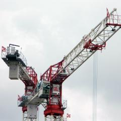 Terex Comedil CTT361-18 HD23 tower crane with Geda