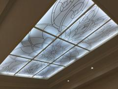Ceilings stained glass Arth 2