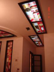 Ceilings stained glass Arth 42