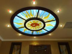 Ceilings stained glass Arth 72