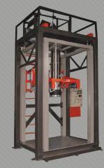 Scales of filling of bags of Big-Bag of 500 kg,