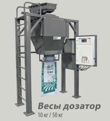 Scales doser of 10 kg, 50 kg, Doser Esit BF