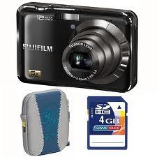 Цифровой фотоаппарат Fujifilm AX200 Black