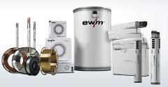 Expendables for welding of EWM Group