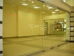 Сборные стеклянные двери Solarlux