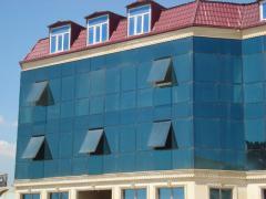 Структурно-силиконовый фасад