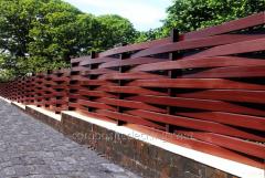 Ogrodzenia drewniane plecione
