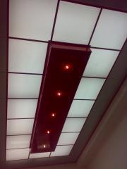 Sufity podwieszane aluminiowe