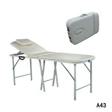 Folding couch for massage, the equipment for