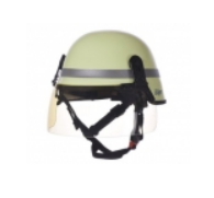 A helmet Drager HPS 4300 are shortened