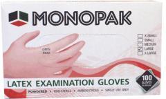 Перчатки медицинские латексные