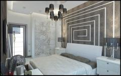 Furniture set for a bedroom