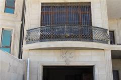 Перила кованые балконные Asforje