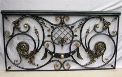 Модули для лестниц и оград кованые изысканные