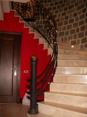 Поручни кованые для лестницы Asforje