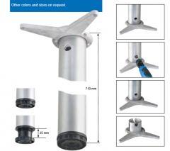 Опоры мебельные TABLE METAL LEGS W/HEIGHT ADJUSTER