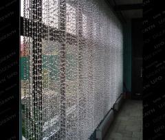 Стеклянные шторы UFO dsign