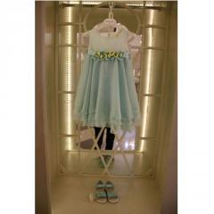 Платье для девочки нежно-голубого цвета VIP