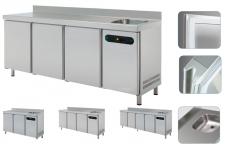 Морозильный стол с мойкой  ETP-6-150-20S