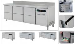 Столы холодильные выдвижными ящиками (GASTRONOM)