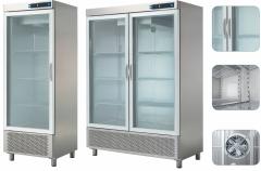 Холодильный шкаф - стеклянная дверь  ECP-1202