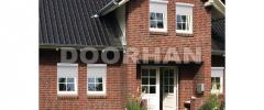 Rolling shutters from steel profiles