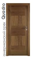 Двери Quadro американский орех
