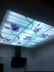 Потолки стеклянные