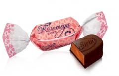 Шоколадные конфеты с нежной желейной начинкой и со