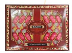 Шоколадные конфеты Romeya çiyələk- strawberry- клубника