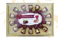 Коробка шоколадных конфет Diamante- виноград