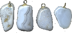 Suspension brackets from agate-sapfirina