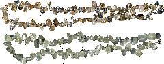 Бусы из камней-самоцветов