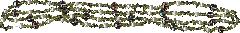 Бусы из натурального зеленого граната-хризолита