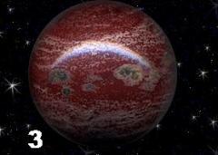 Шар из темно-красной вишневой яшмы N 3