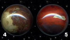 Spheres from a color jasper