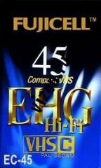 Видеокассета VHS-C Fujicell EC-45 Товары в