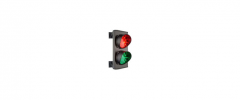 The traffic light for regulation of the movement